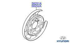 Genuine Hyundai Santa Fe - Rear Brake Dust Shield RH Drivers Side - 5825226000