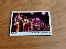 1970's Holland Dutch Mini Gum Card Series P # 59 T. Rex Vg Set Break