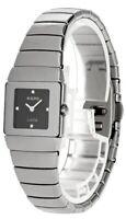 RADO Jubile Black Dial Diamond Marker Ceramic Women's Watch R13334732