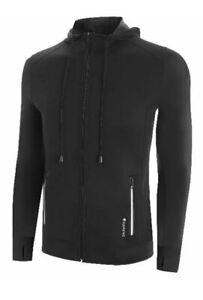 SAUNAFX Men's Jacket, Neoprene Sauna Hooded Jacket, L