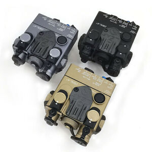 Tactical DBAL-A2 PEQ-15A IR/Visible Lasers White Light Dual Beam Aiming IR Laser