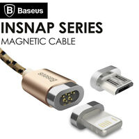 Baseus Universal Magnetic Micro USB Data Charging Cable For iPhone 7 6 Samsung