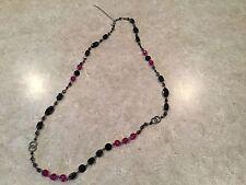 Lia Sophia Raspberry Splash Necklace