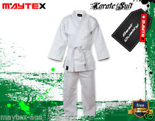 Karate Uniform Size 1/140 Best Quality & Fit Uniforms 8oz 100 Cotton