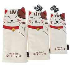 Golf club Head Covers Headcover Driver Fairway Wood Hybrid Covers Lucky Kit_gu