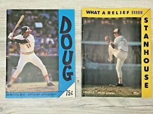 2 Official Programs Baltimore Orioles 1979 Don Stanhouse & Doug DeCinces Covers