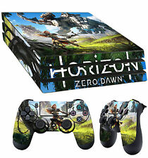 PS4 Pro Skin Horizon Zero Dawn Aloy Hunter 01 Sticker + 2 X Pad decal Vinyl LAY