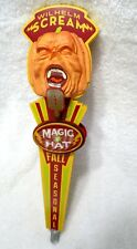 Magic Hat Wilhelm Scream Pumpkin Ale Fall Seasonal Beer Tap Handle