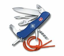 0.8593.2W Victorinox Swiss Army Pocket Knife SKIPPER BLUE 2017 NEW GENUINE !!!