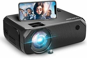 WiFi Projector BOMAKER GC355 6000 Lux Wireless Screen Mirroring Outdoor Movie
