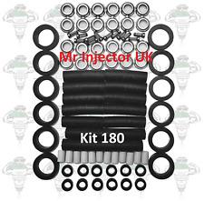 Jaguar V12 HE Bosch 0280150161 Lucas 73303A Fuel Injector Service Kit - Kit 180