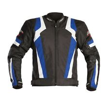 BRAND NEW RST BLADE SPORT 1348 TEXTILE MOTORCYCLE JACKET BLUE SIZE 44 LARGE