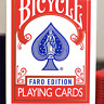 Limited Edition Bicycle Faro (Red) Playing Cards - LIMITED