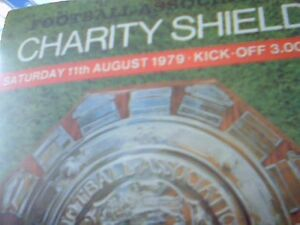 Arsenal v Liverpool (F A Charity Shield) - 11 August 1979