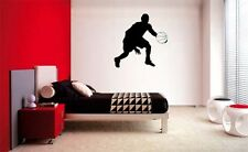 BASKETBALL PLAYER DECAL WALL VINYL DECOR STICKER BEDROOM SPORTS KID CHILDREN ART