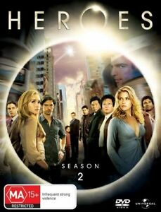 Heroes Season 2 DVD Brand New & Sealed Region 4 PAL
