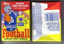 1989 Topps Football Wax Pack (x1) Fresh from Box!