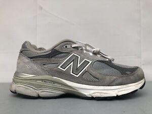 New Balance 990 M990 V3 Grey Men US 8 D Running Shoes M990GL3