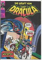 Die Gruft von Graf Dracula Nr 11 von 1974 Williams - TOP ORIGINAL MARVEL-COMIC