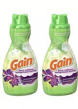 Gain Liquid Fabric Softener, Moonlight Breeze, 41 Ounces (Pack of 2)