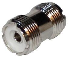 Adaptateur prise fiche adaptateur raccord coupleur UHF femelle-femelle