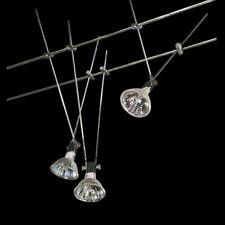 1x Strahler Spot für Halogen Seilsystem chrom beweglich