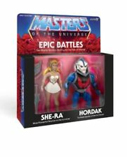 Super7 He-Man MOTU Filmation SHE-RA HORDAK Epic Battles 2-Pack Exclusive Super 7