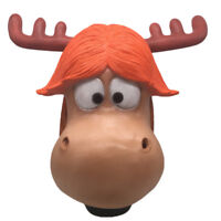 New The Grinch Xmas Elk Mask How the Grinch Stole Christmas Adult Cosplay Helmet