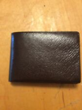 VINTAGE BROWN LEATHER MEN'S WALLET BUXTON CONVERTIBLE B60