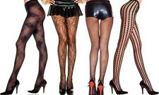 Lot Lace Sexy Fishnet Pattern Pantyhose Stockings Tights Blacks One Size Regular