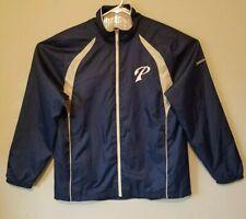San Diego Padres Reebok Jacket Windbreaker Blue Size Large Men Full Zip Track