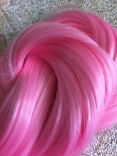"""Light Pink Hair Extension Weave/Weft Color #Pink2 Heat Styling Synthetic 30"""""""