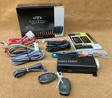 NEW AVITAL 4115L 1-Way Remote Start System w/ 1 Button Remote & Sidekick Remote