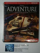 Infocom THE ADVENTURE COLLECTION PC & Mac Game CD-ROM Adventure BIG BOX SEALED