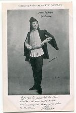 CARTE POSTALE PHOTO PERSONNALITE JEAN PERRIER COMIQUE