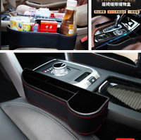 Car Seat Crevice Storage Box Cup Drink Holder Organizer Auto Gap Pocket Stowing