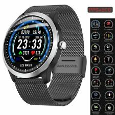 Sports ECG+PPG Smart Watch Bracelet Bluetooth Wristwatch for iOS iPhone Android