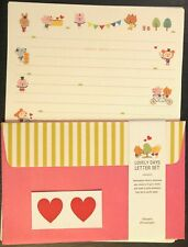 Lovely Days Letter Set - Kawaii Korean Stationery - Cute Artbox Writing Paper