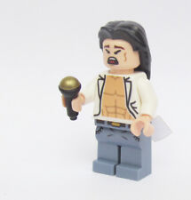 LEGO Custom - 80's rock band singer white tux - minifigures