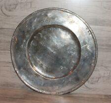 Antique Italian silver plated platter tray