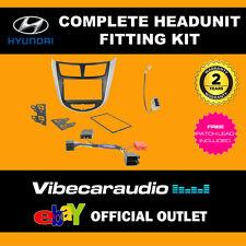 Connects2 CTKHY14 Hyundai Verna 2010 > Stereo Double Din Fascia Fitting Kit
