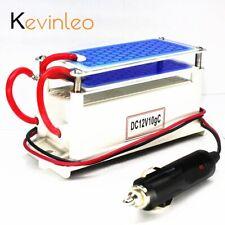 Kevinleo générateur d'ozone voiture 12 V 10g Portable en céramique plaque