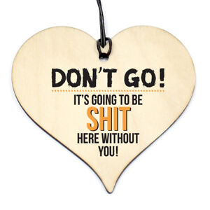 #646 OFFICE Leaving Work Gift Colleagues Heart Plaque Sign Friendship Office