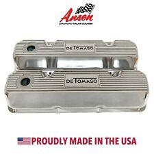 Ford De Tomaso Pantera Valve Covers Polished (Style 1) 351 Cleveland - Ansen USA