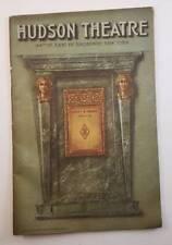 "1907 Hudson Theatre New York City ""Brewster's Millions"" George Barr McCutcheon"