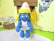 Super Smurfs Smurfette Peyo driving incomplete 2in. PVC figure only China