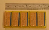 10 NEW SANDVIK TNMG-415 Solid Carbide Inserts TNMG  WL14.4.11V