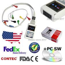 Fedex TLC5000 12-Channel ECG/EKG System 12 lead 24H Holter Analyzer Monitor+USB
