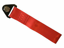 Red tow strap - race track road off road