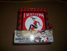 Bif Bang Pow! Dc Comics Harley Quinn Jack In The Box New Fast Shipping